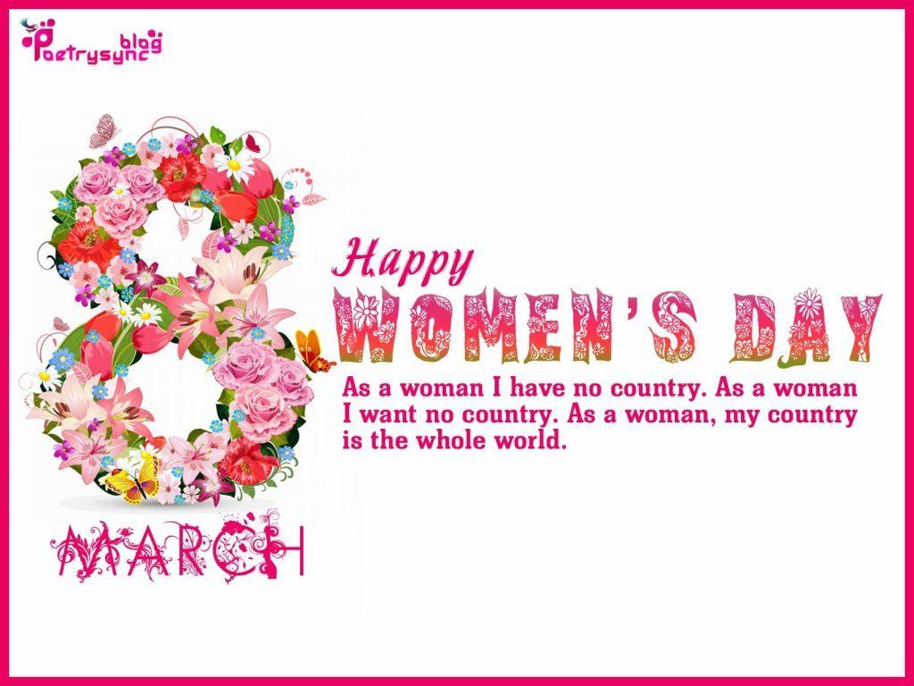 Happy Women's Day 2018 Poems