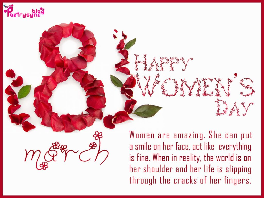 8th March}* International Women's Day Shayari & Poems 2019 for