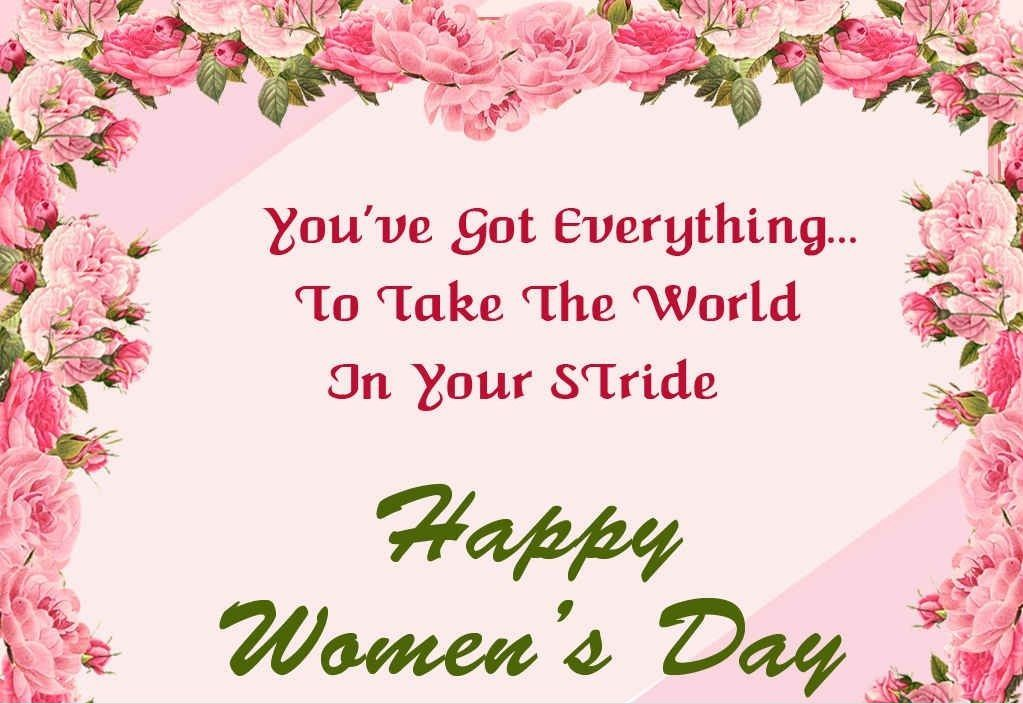 International Women S Day Quotes Messages: Happy Women's Day Wishes, Messages, SMS, Greetings, Cards