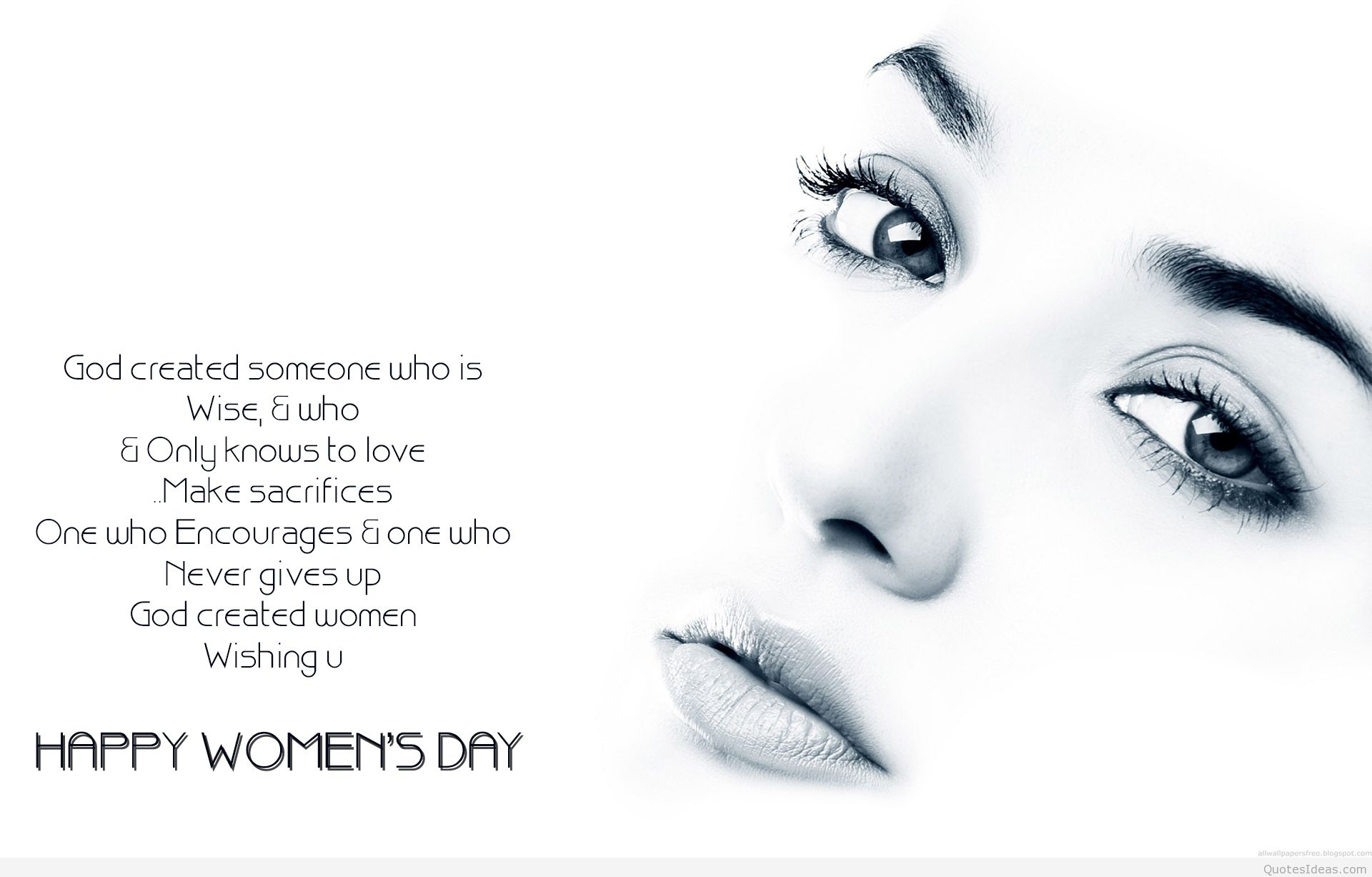 Women's Day Image with Quotes