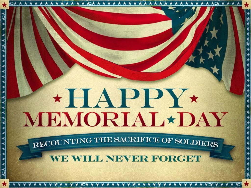 Memorial Day Status