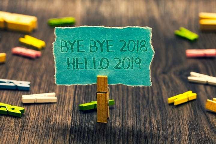 Goodbye 2018 Welcome 2019 Images for Whatsapp