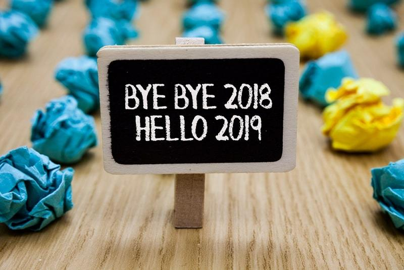 Goodbye 2018 Welcome 2019 Images