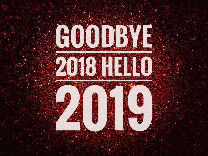 Goodbye 2018 Welcome 2019 Status for Whatsapp