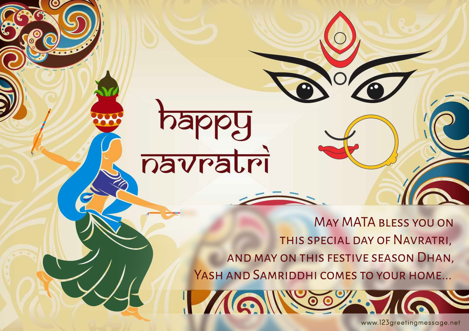 Happy Navratri 2019 Wallpapers