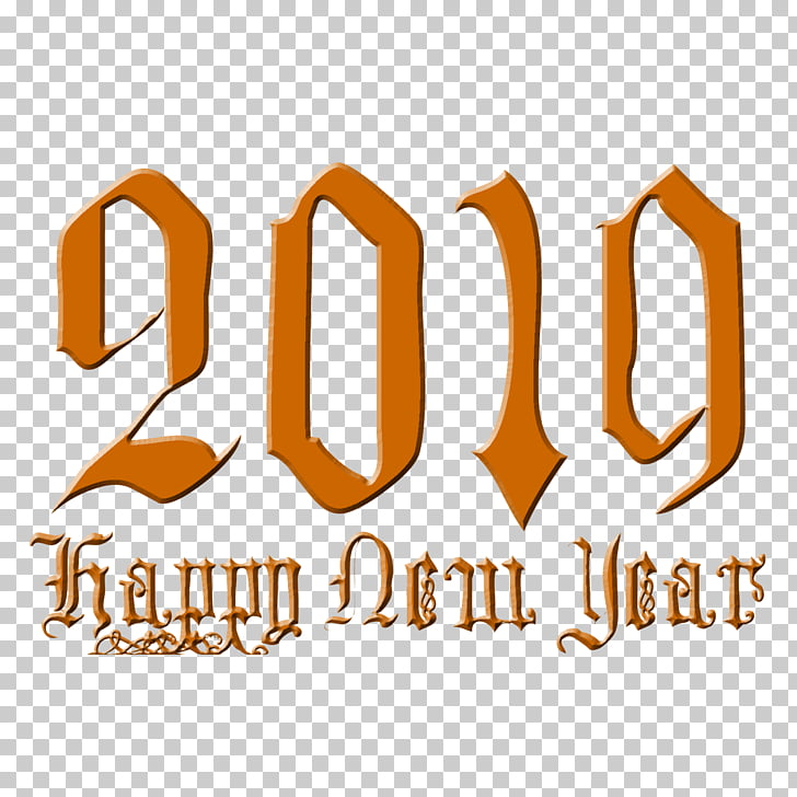 Happy New Year 2019 Clipart Free Download
