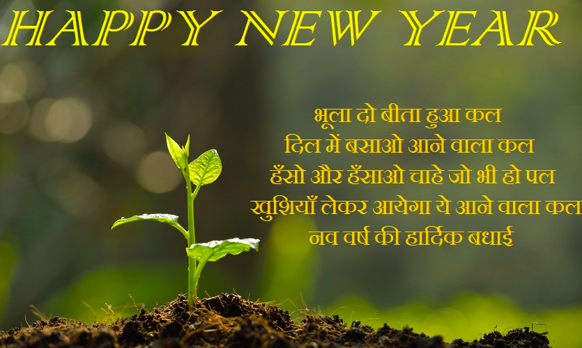 Happy New Year 2019 Hindi Shayari