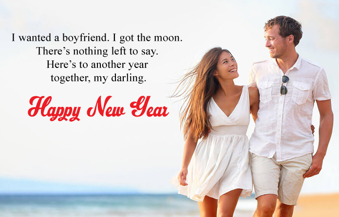 Happy New Year 2019 Wishes for GF & BF