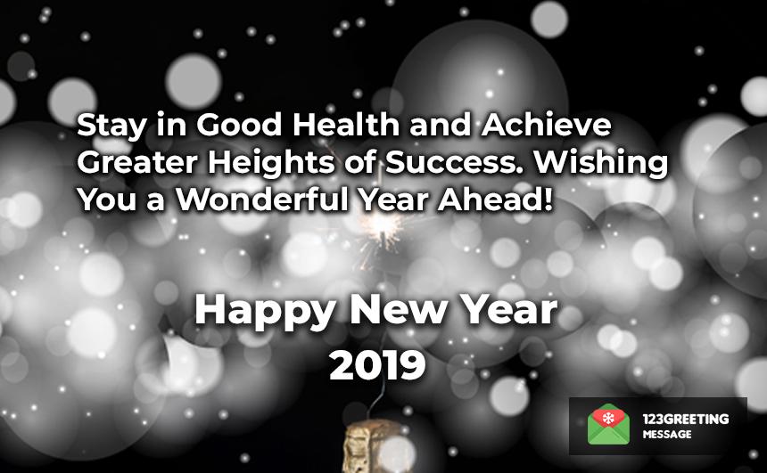Happy New Year 2019 Slogans