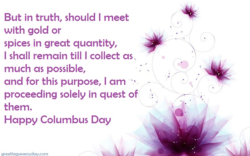 Columbus Day 2018 Wishes