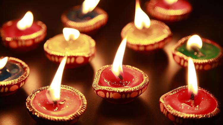 Diwali Candle Decoration Idea