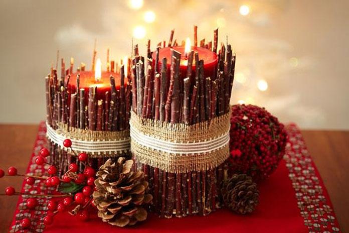 Diwali Candle Decoration ideas
