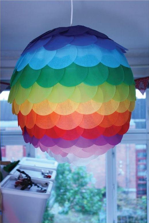 Diwali Colourful Lamp Kandil