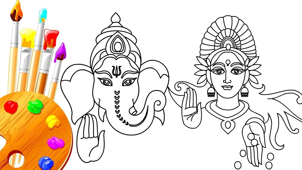 Diwali Drawing Pictures for Competitions