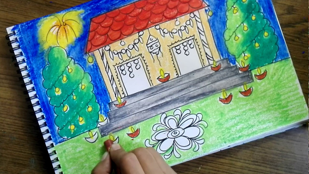 Diwali Scenes & Sketch 2018