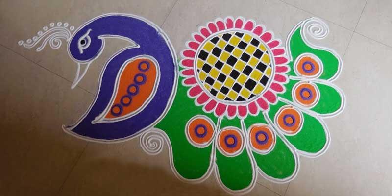 Diwali ki Rangoli Design