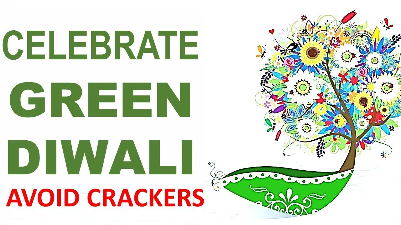 Eco-Friendly Deepavali Image with Thought