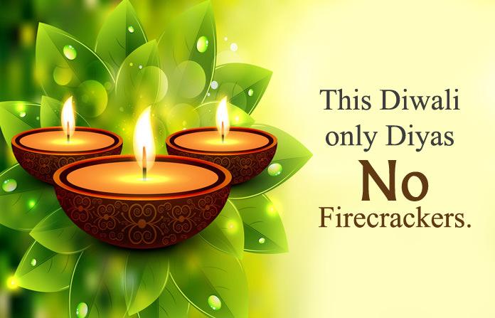Eco Friendly Diwali Slogans - Deepavali Thoughts 2021 - Go Green Status