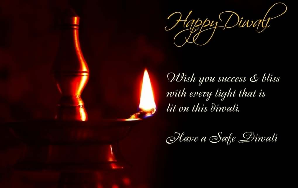 Happy and Safe Diwali Images for Whatsapp