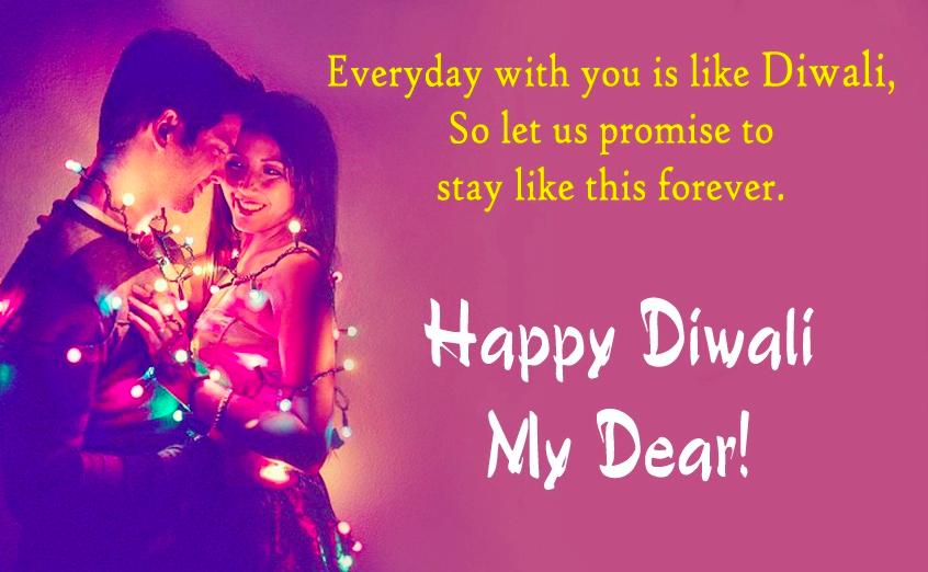 Romantic Diwali Wishes for Girlfriend, Boyfriend, Lovers, Crush & Fiance