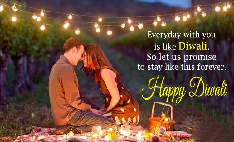 Romantic Diwali Wishes for Girlfriend {Sweetheart}* & Boyfriend