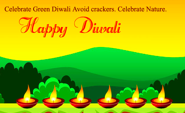 Safe and Happy Diwali Short Line & Text