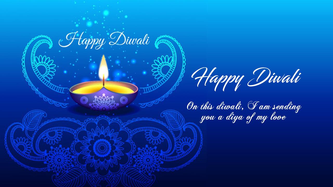 Shubh Diwali Status
