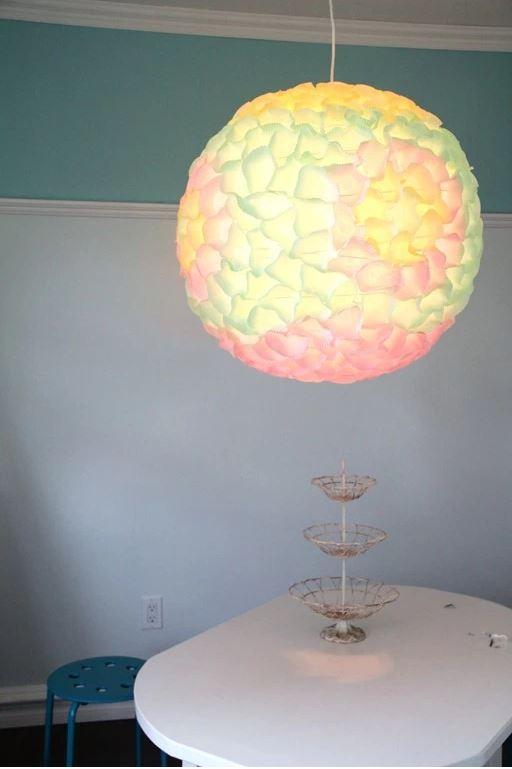 cupcake paper lantern