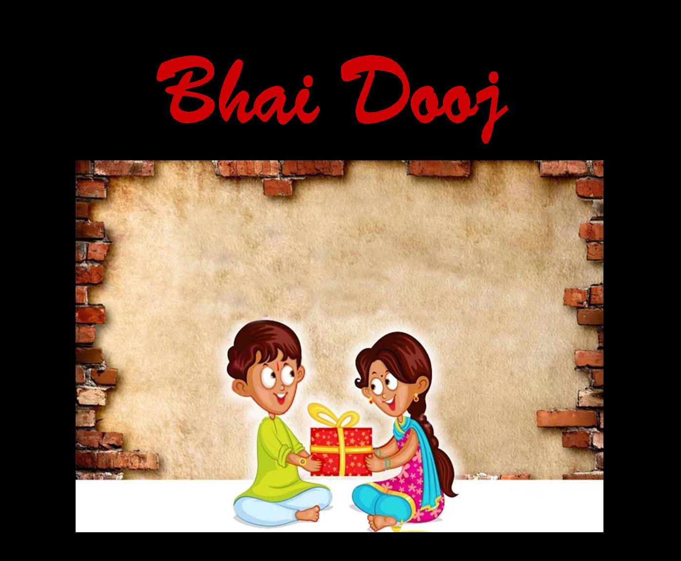Bhau-Beej Bhai Tika Stickers