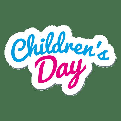 Childrens Day Stickers