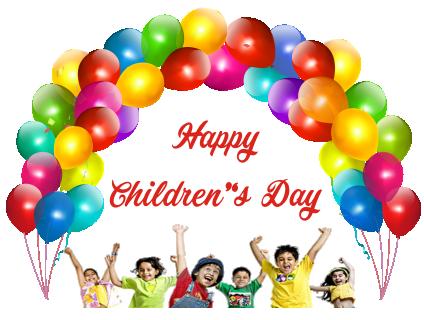 Children's Day Stickers for Whatsapp