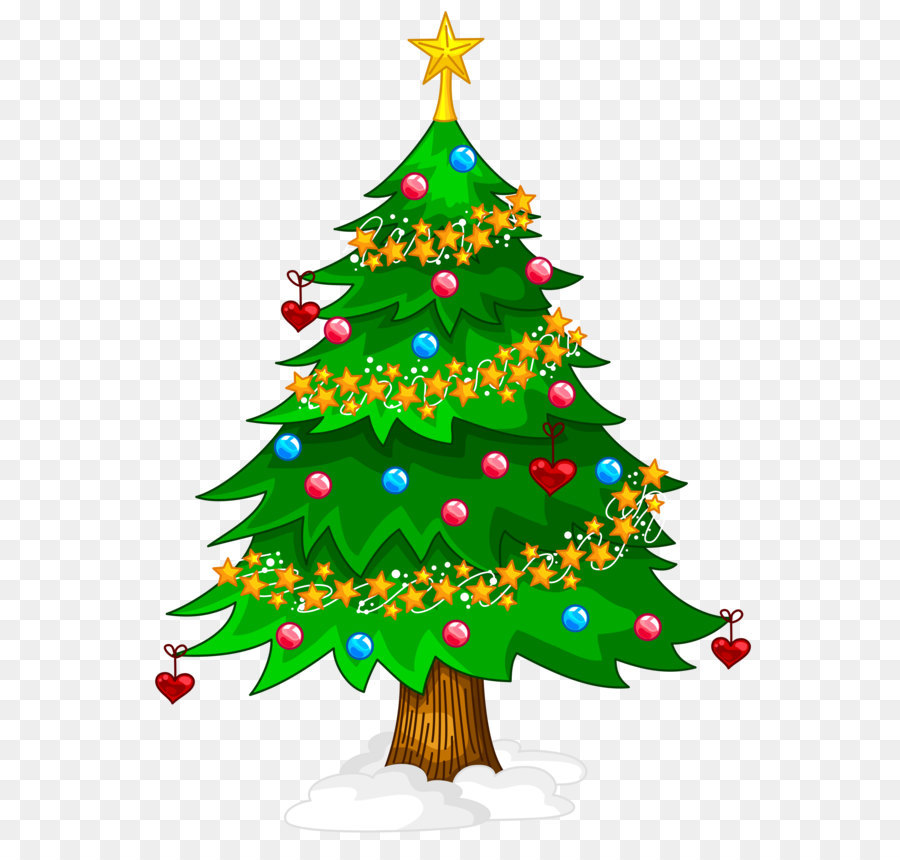Christmas Tree Stickers 2019