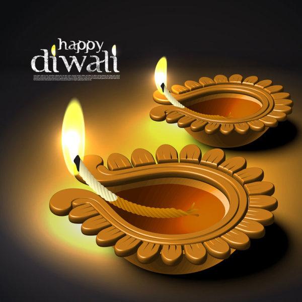 Diwali Diya Stickers for Whatsapp