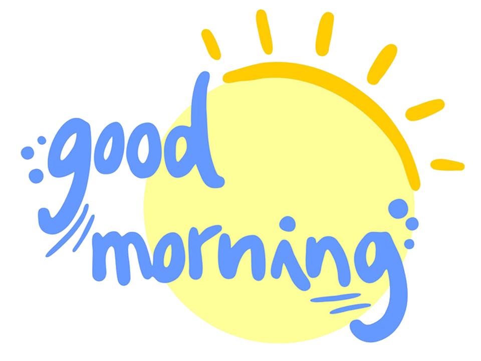 Good Morning Sticker's for Lovers