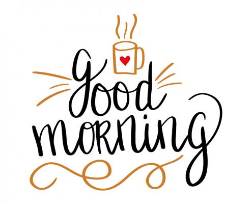 Good Morning Whatsapp Stickers