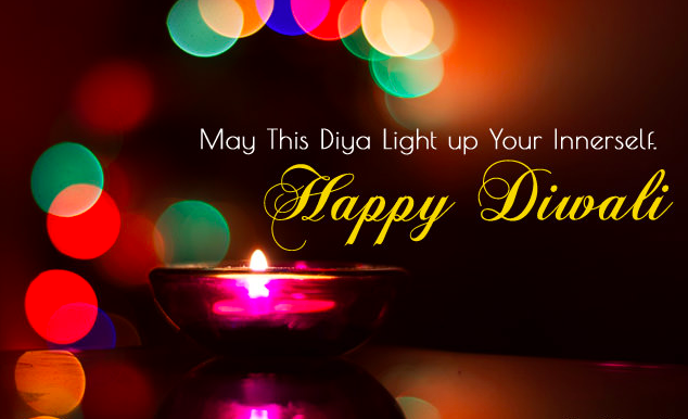 Good Morning with Happy Diwali Line