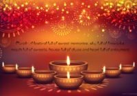 Good Morning with Happy Diwali Wishes, Line & Images