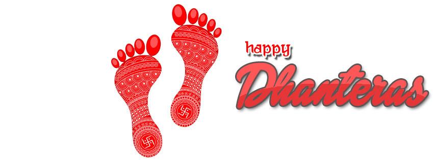 Happy Dhanatrayodashi Facebook Cover Photos