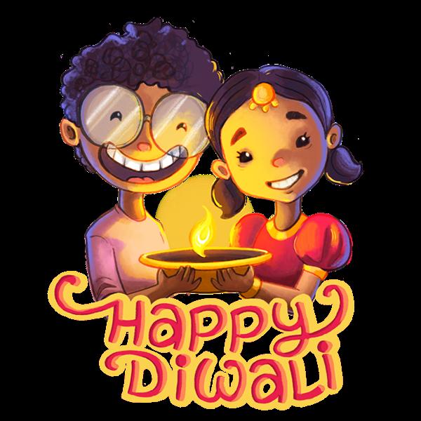 Happy Diwali Stickers