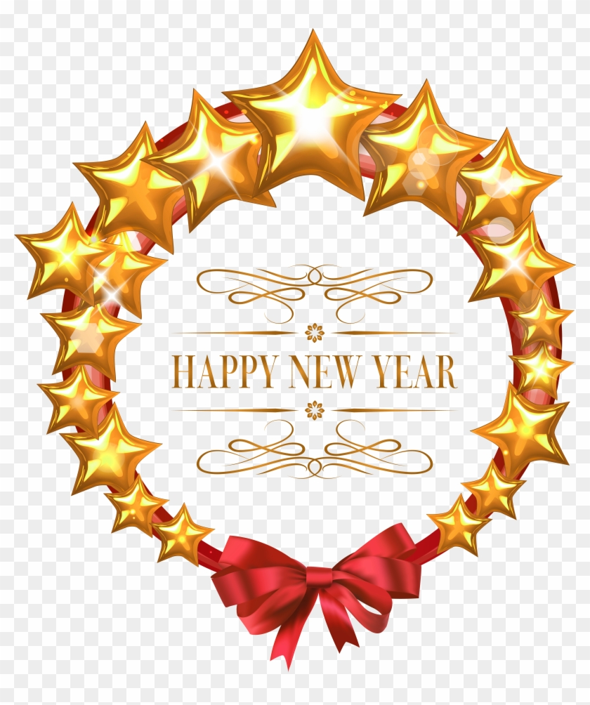 Happy New Year 2019 Cartoon Stickers