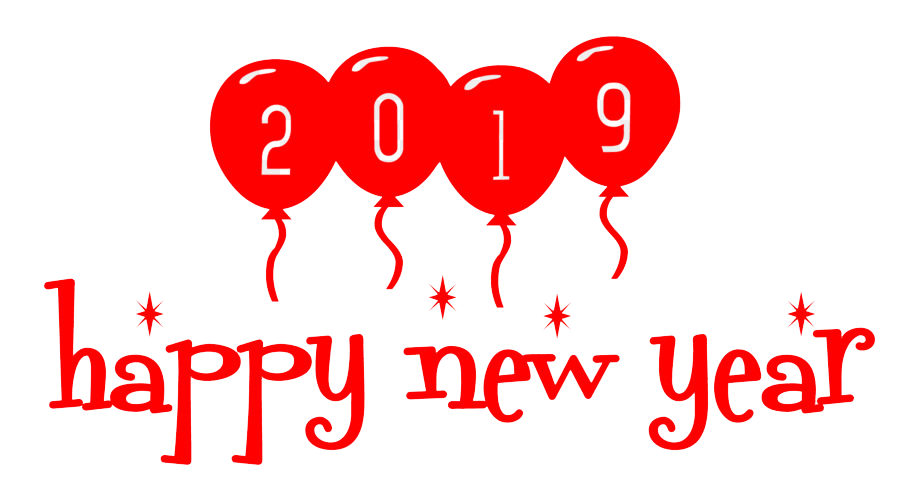 Happy New Year 2019 Stickers for Whatsapp