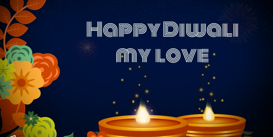 Romantic Diwali Love Images for GF, BF, Crush & Fiance