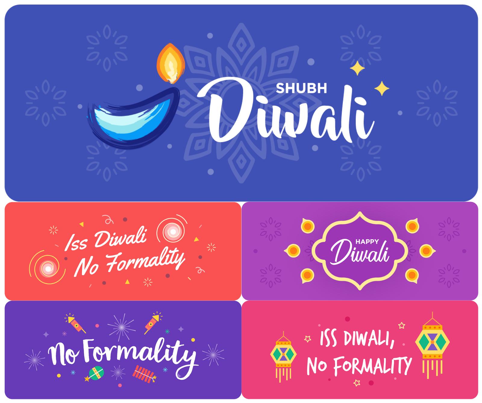Subh Diwali Stickers for Whatsapp