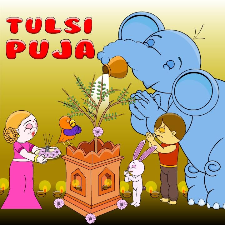 Tulsi Vivah Puja Wishes & Whatsapp Status