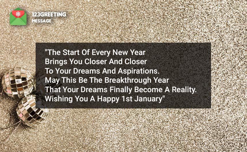 1st January 2020 Wishes
