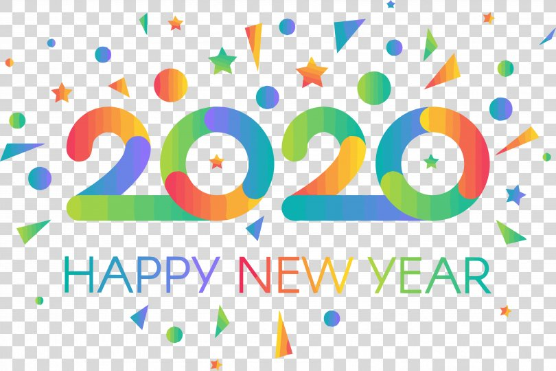 2020 New Year Stickers