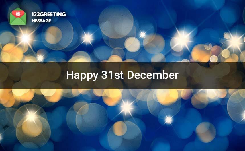 31st December DP