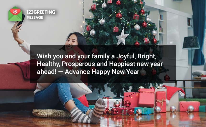 Advance Happy New Year 2020