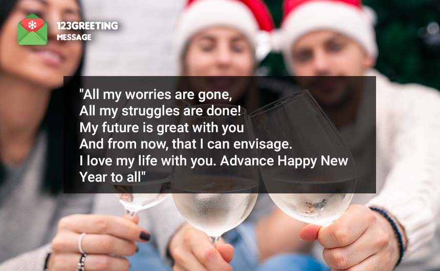 Advance Happy New Year Messages