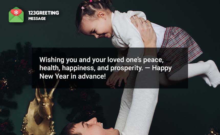 Advance Happy New Year Status
